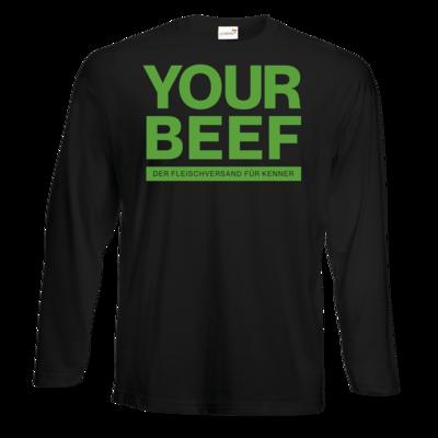 Motiv: Exact 190 Longsleeve FAIR WEAR - Yourbeef Logo block