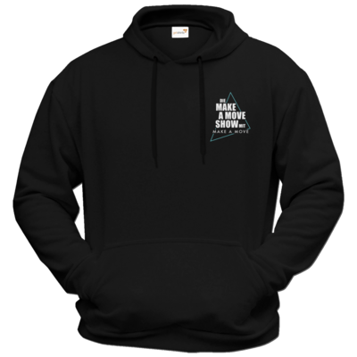 Motiv: Hoodie Premium FAIR WEAR - Make A Move Show (small Logo)
