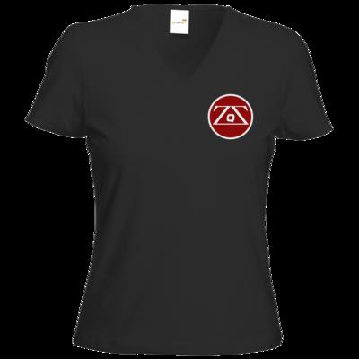 Motiv: T-Shirt Damen V-Neck Classic - ZargoZ_quatscht