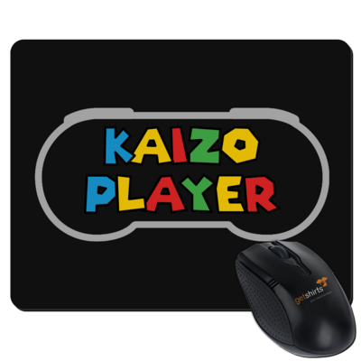 Motiv: Mousepad Textil - Kaizo Player