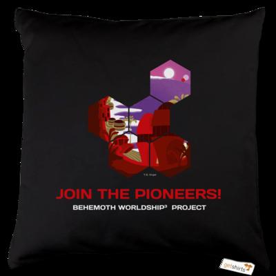 Motiv: Kissen Baumwolle - BEHEMOTH PIONEERS Shirt 01