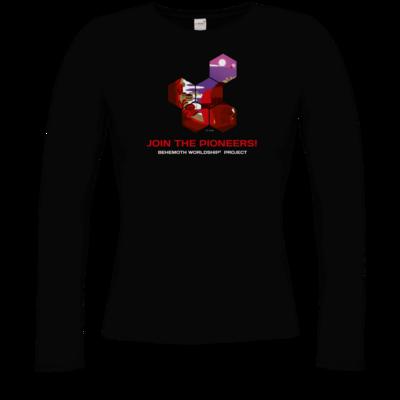 Motiv: Longsleeve Damen Organic - BEHEMOTH PIONEERS Shirt 01