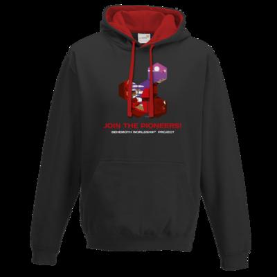 Motiv: Two-Tone Hoodie - BEHEMOTH PIONEERS Shirt 01