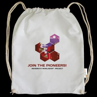 Motiv: Cotton Gymsac - BEHEMOTH PIONEERS Shirt 01