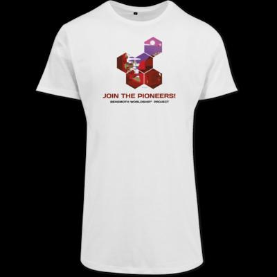 Motiv: Shaped Long Tee - BEHEMOTH PIONEERS Shirt 01