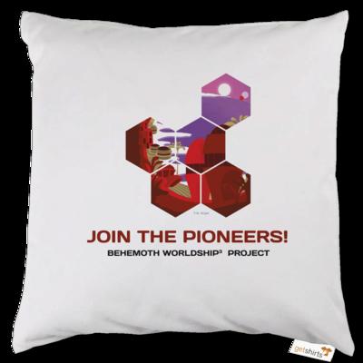 Motiv: Kissen - BEHEMOTH PIONEERS Shirt 01