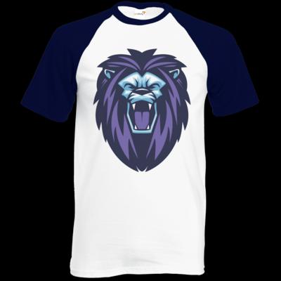 Motiv: Baseball-T FAIR WEAR - Lion