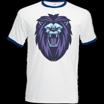 Motiv: T-Shirt Ringer - Lion