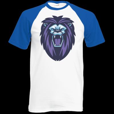 Motiv: TShirt Baseball - Lion