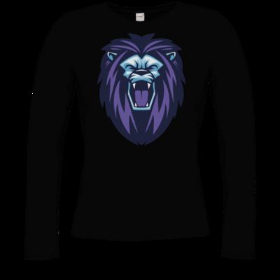 Motiv: Longsleeve Damen Organic - Lion