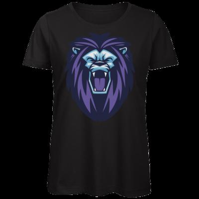 Motiv: Organic Lady T-Shirt - Lion