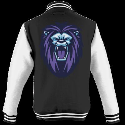 Motiv: College Jacke - Lion
