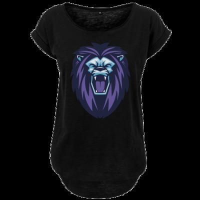 Motiv: Ladies Long Slub Tee - Lion