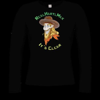 Motiv: Longsleeve Damen Organic - It's Clear