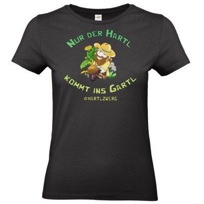 Motiv: T-Shirt Damen Premium FAIR WEAR - HartlZwerg