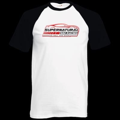 Motiv: TShirt Baseball - Logo groß