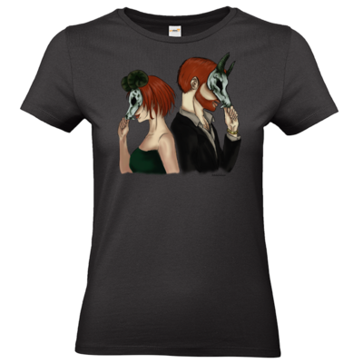 Motiv: T-Shirt Damen Premium FAIR WEAR - Ally und Sean
