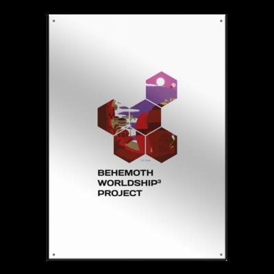 Motiv: Metallschild - BEHEMOTH Project Logo