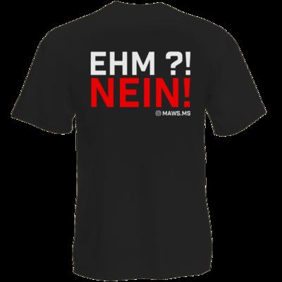 Motiv: T-Shirt Premium FAIR WEAR - Ehm? NEIN!