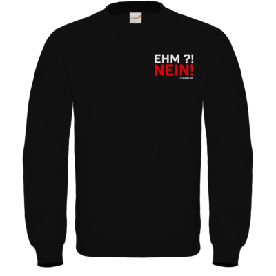 Motiv: Sweatshirt FAIR WEAR - Ehm? NEIN!
