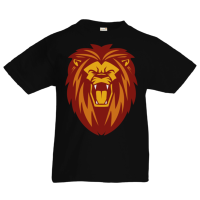 Motiv: Kids T-Shirt Premium FAIR WEAR - Lion gelb