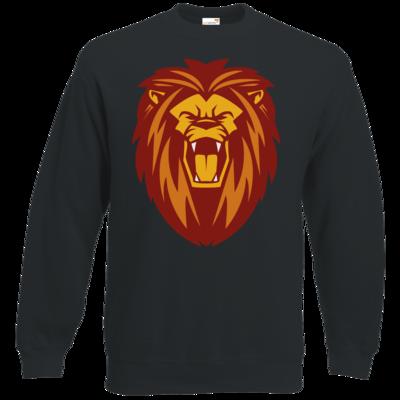 Motiv: Sweatshirt Classic - Lion gelb