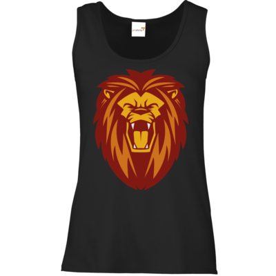 Motiv: Tank Top Damen Classic - Lion gelb