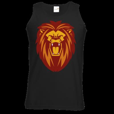 Motiv: Athletic Vest - Lion gelb
