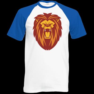 Motiv: TShirt Baseball - Lion gelb