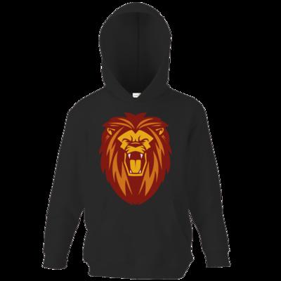 Motiv: Kids Hooded Sweat - Lion gelb