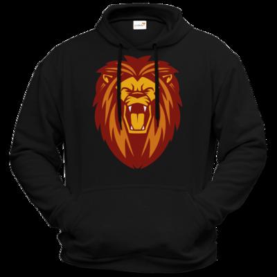 Motiv: Hoodie Premium FAIR WEAR - Lion gelb