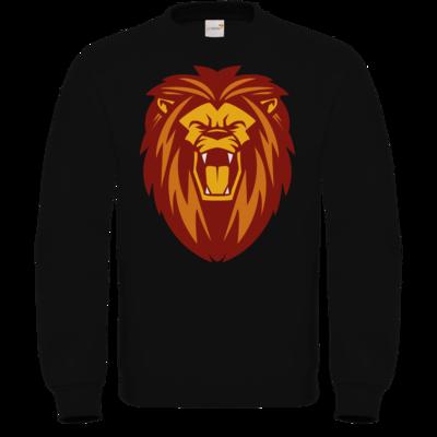 Motiv: Sweatshirt FAIR WEAR - Lion gelb