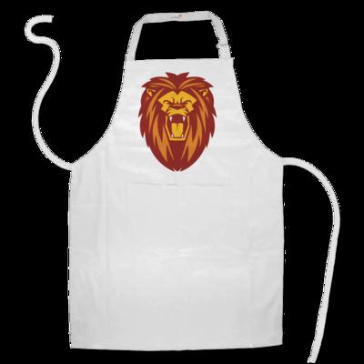 Motiv: Schürze - Lion gelb