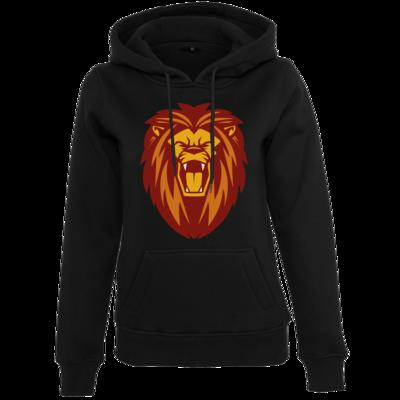 Motiv: Womens Heavy Hoody - Lion gelb
