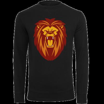 Motiv: Light Crew Sweatshirt - Lion gelb