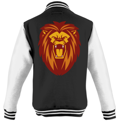 Motiv: College Jacke - Lion gelb