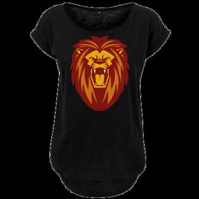 Motiv: Ladies Long Slub Tee - Lion gelb