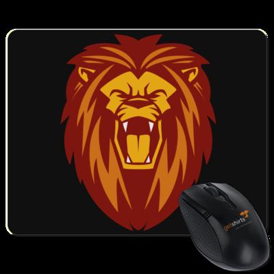 Motiv: Mousepad Textil - Lion gelb