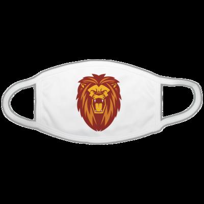 Motiv: Gesichtsmaske - Lion gelb