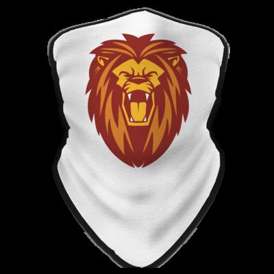 Motiv: Schlauchtuch - Lion gelb