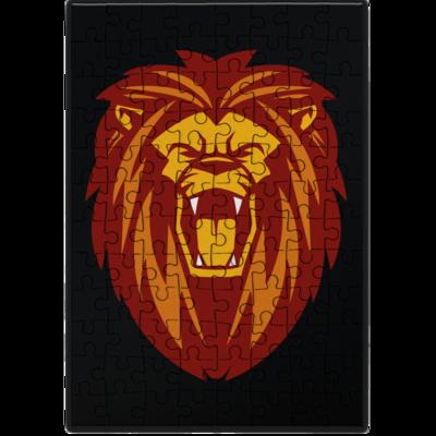 Motiv: Puzzle - Lion gelb