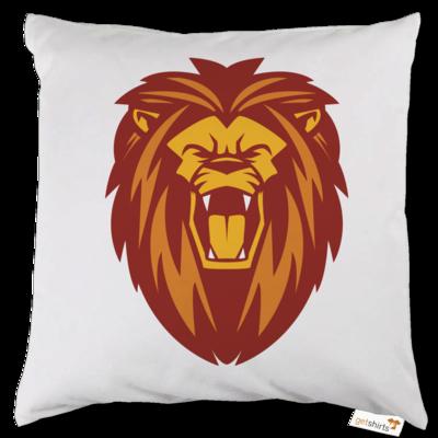 Motiv: Kissen - Lion gelb