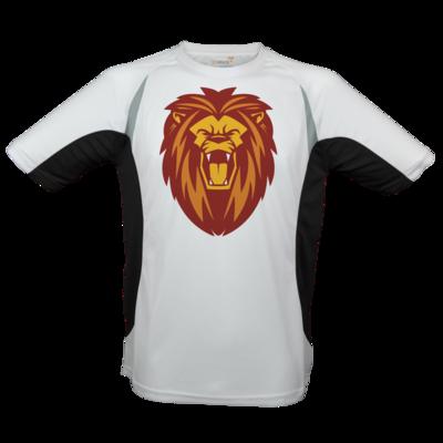 Motiv: Laufshirt Running T - Lion gelb