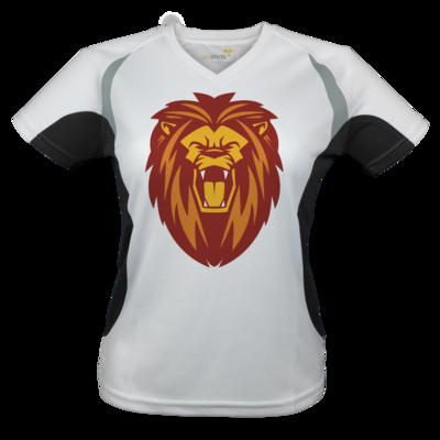 Motiv: Laufshirt Lady Running T - Lion gelb