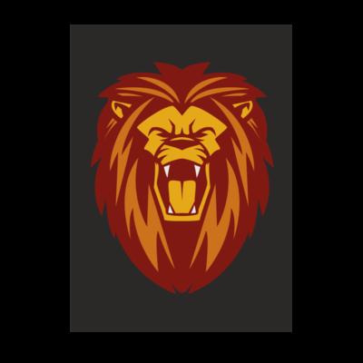 Motiv: Poster A1 - Lion gelb