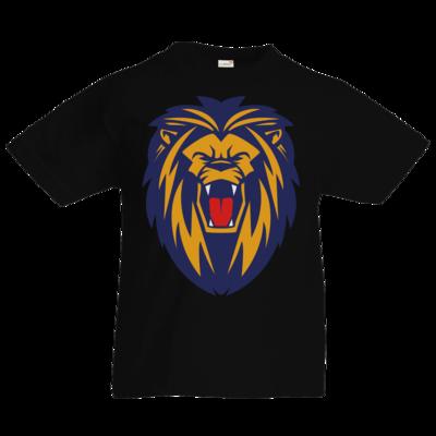 Motiv: Kids T-Shirt Premium FAIR WEAR - Lion blaugelb