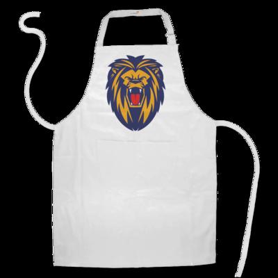 Motiv: Schürze - Lion blaugelb