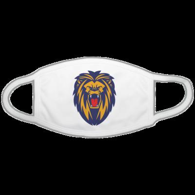 Motiv: Gesichtsmaske - Lion blaugelb