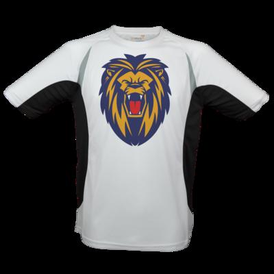 Motiv: Laufshirt Running T - Lion blaugelb