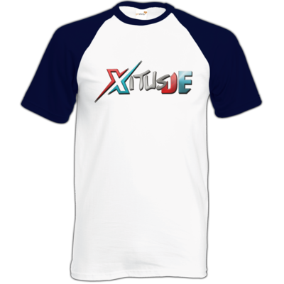 Motiv: Baseball-T FAIR WEAR - XitusDE Logo